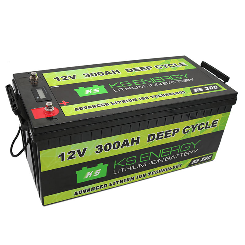 GSL ENERGY-Lithium Ion Technologies - 12V 300AH Advanced Deep Cycle Lithium Battery - Solar,Marine,R-1