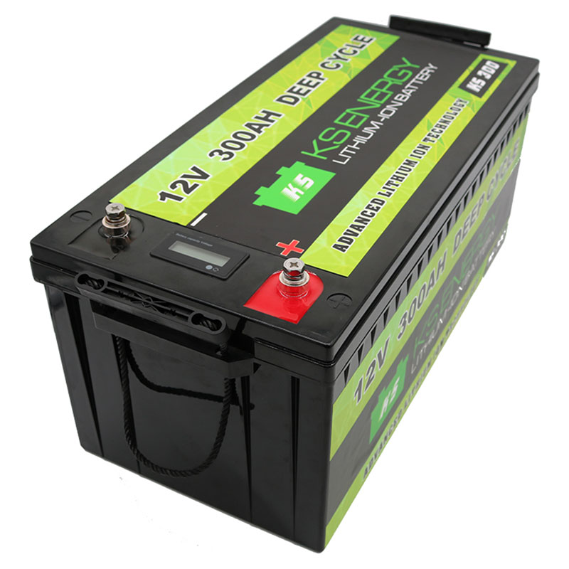 GSL ENERGY-Lithium Ion Technologies - 12V 300AH Advanced Deep Cycle Lithium Battery - Solar,Marine,R-2