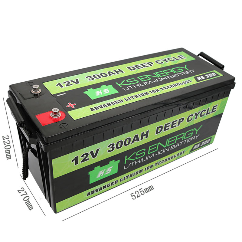GSL ENERGY-Lithium Ion Technologies - 12V 300AH Advanced Deep Cycle Lithium Battery - Solar,Marine,R-3