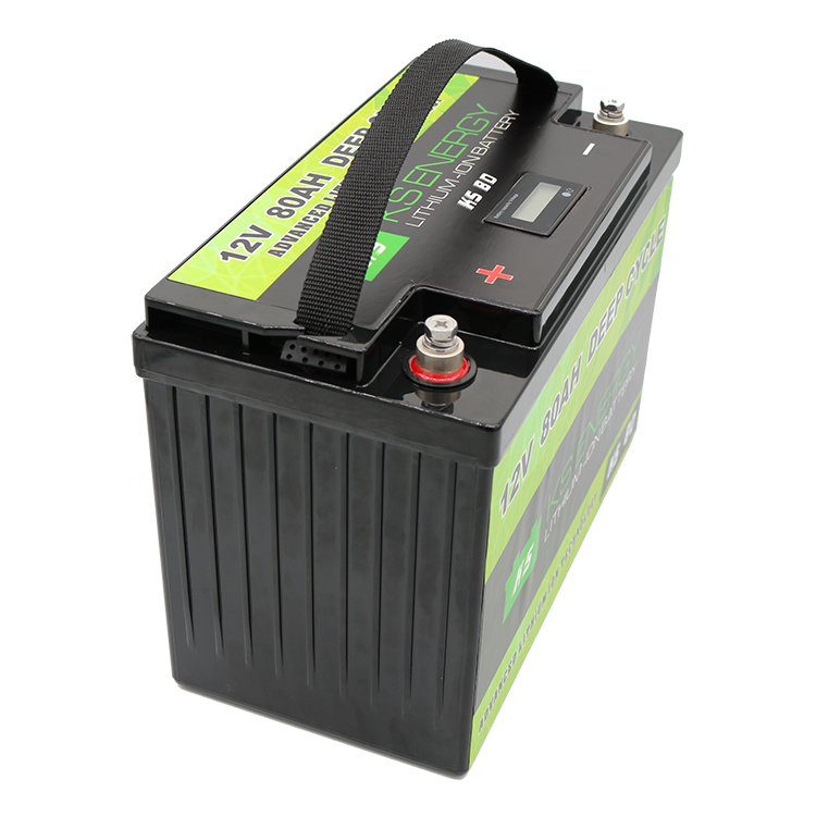 GSL ENERGY-More Safer And Lightweight LED Power Display 12V 80Ah Lithium Iron Phosphate Battery-2