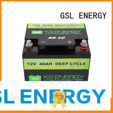 cycle Custom capacity display 12v 50ah lithium battery GSL ENERGY more