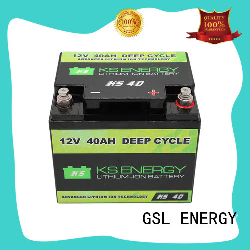Custom marine 12v 50ah lithium battery lifepo4 GSL ENERGY