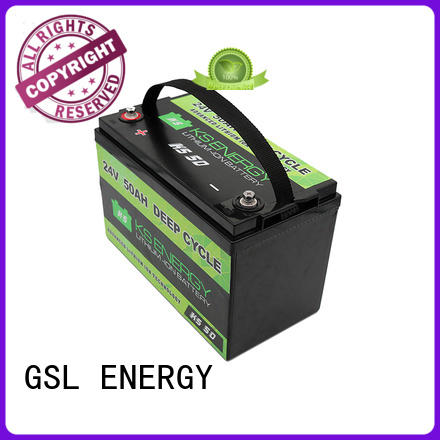 lifepo4 lifepo4 batteries for sale deep cycle for office automation GSL ENERGY