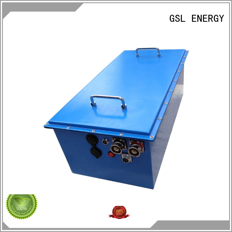 Wholesale pack 48v golf cart battery GSL ENERGY Brand