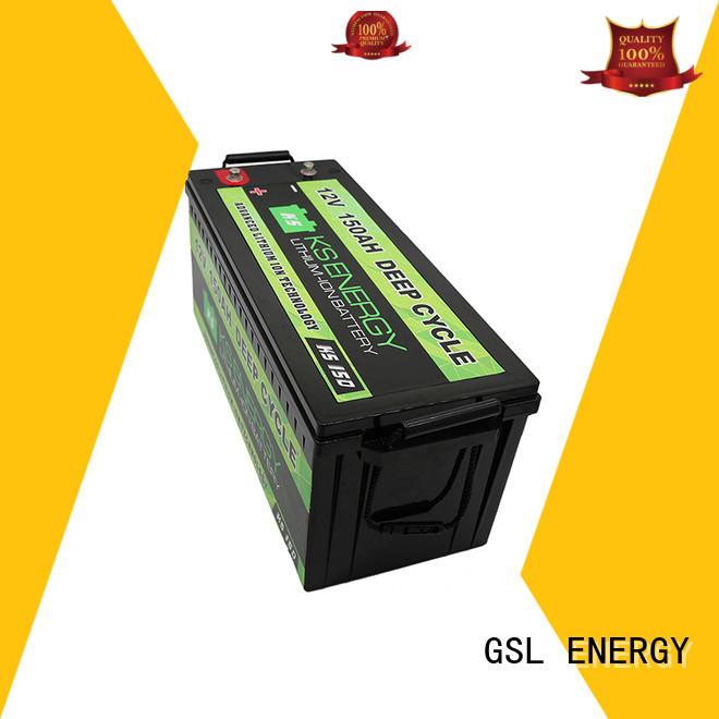 liion car lifepo4 12v 20ah lithium battery GSL ENERGY manufacture