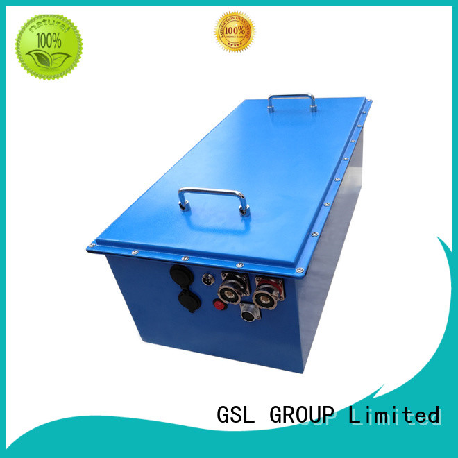 48v golf cart battery pack rickshaw deep GSL ENERGY Brand company