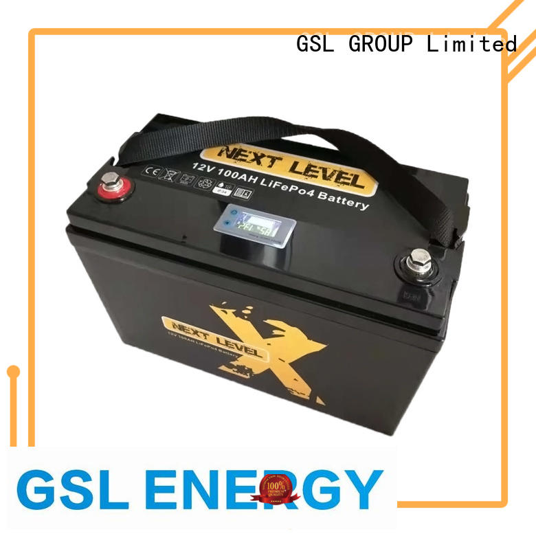 llithium Custom caravans 12v 50ah lithium battery cycle GSL ENERGY