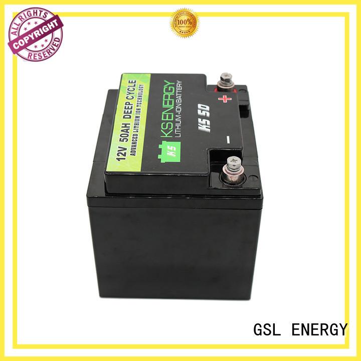 12v 20ah lithium battery li lithium GSL ENERGY Brand 12v 50ah lithium battery