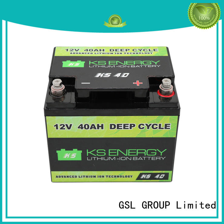 GSL ENERGY rechargeable lifepo4 rv battery inquire now for car