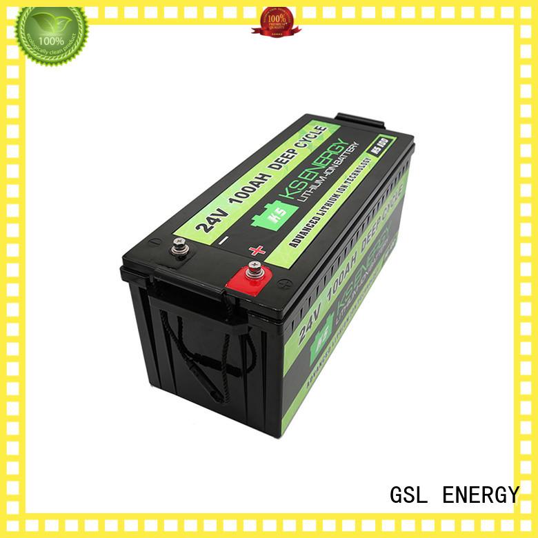 Wholesale pack lithium 24V lithium battery GSL ENERGY Brand