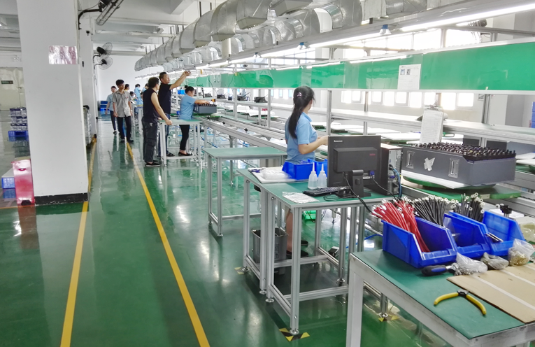 Cylindrical battery factory-GSL ENERGY