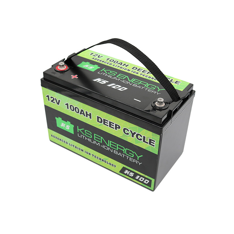 Lifepo4 12V 100AH Lithium Ion Battery For Marine And RV Battery Manufacturers