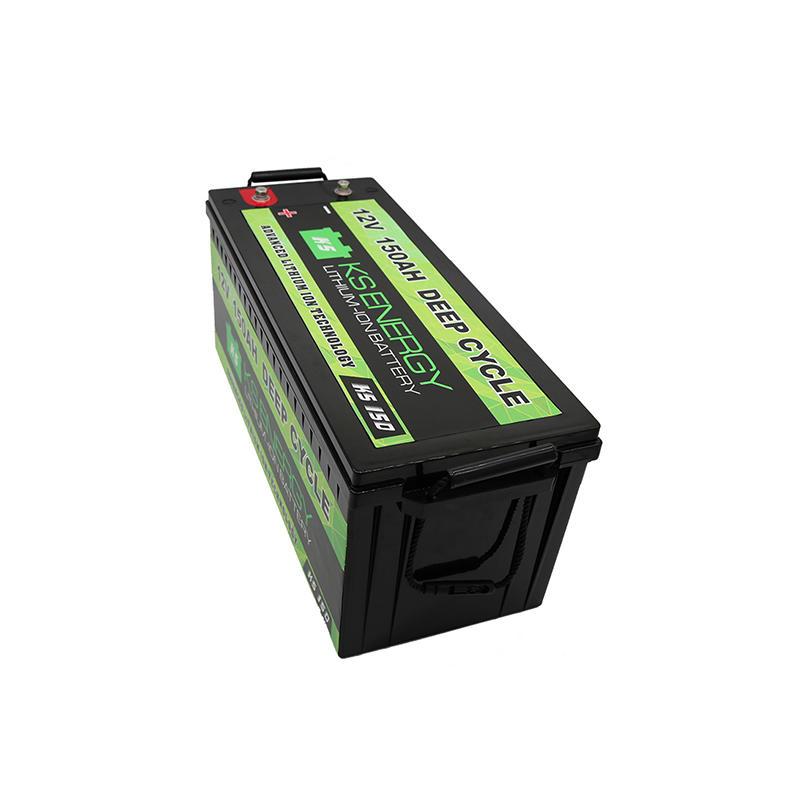 12V 150AH Deep Cycle Llithium Ion Battery For Solar Storage