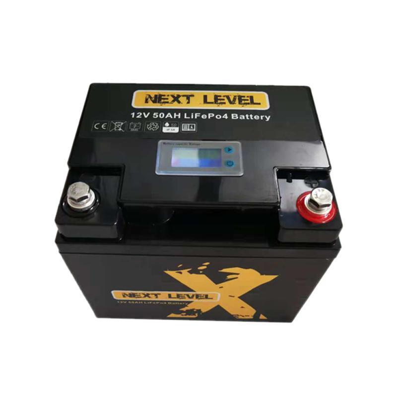 than lithium 12v 50ah lithium battery capacity llithium GSL ENERGY company