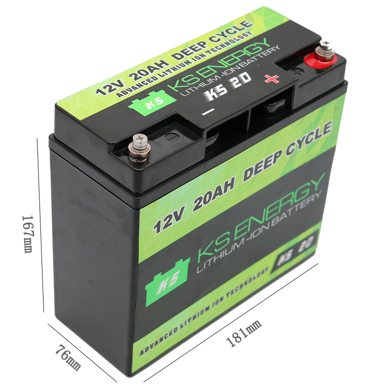 GSL ENERGY-Manufacturer Of Lifepo4 Rv Battery 12v 20ah Rechargeable Lithium-3