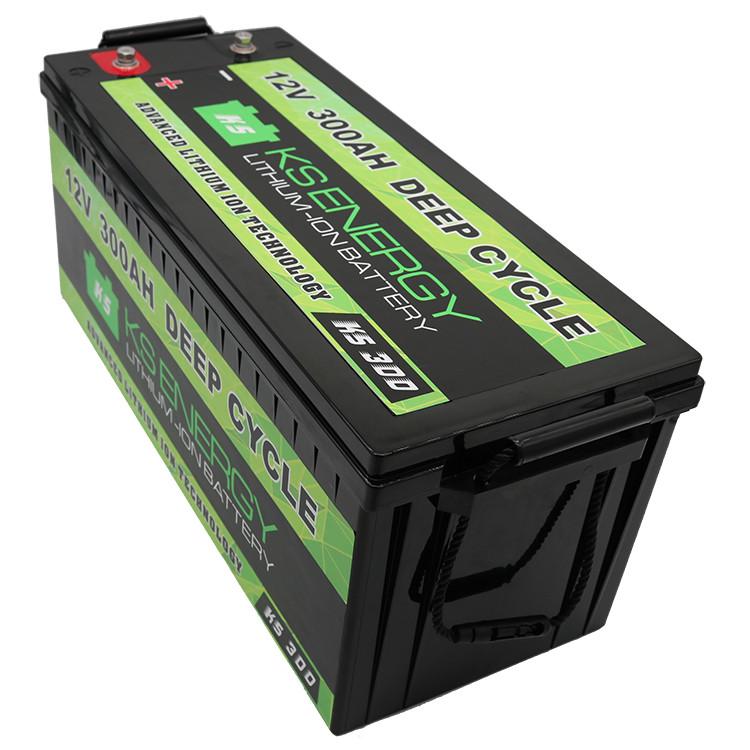 GSL ENERGY-12v 300ah Deep Cycle Li Ion Battery For Rv Camping Car Caravans-2