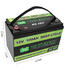 battery more deep 12v 50ah lithium battery led GSL ENERGY Brand