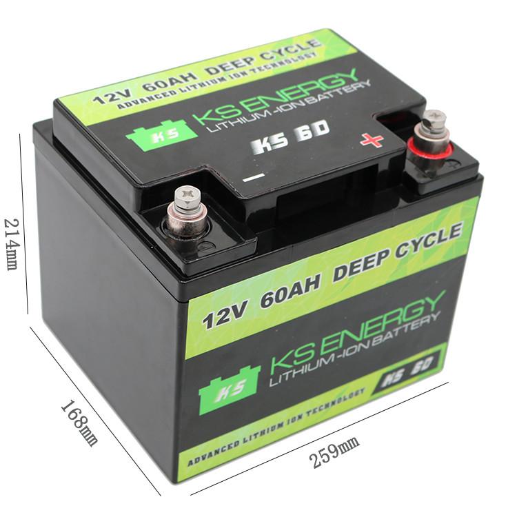 Custom cycle 12v 50ah lithium battery llithium GSL ENERGY