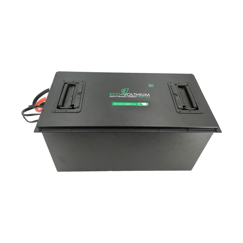 48V 100AH Lifepo4 Deep Cycle Lithium Ion Battery Golf Cart Batteries Manufacturers
