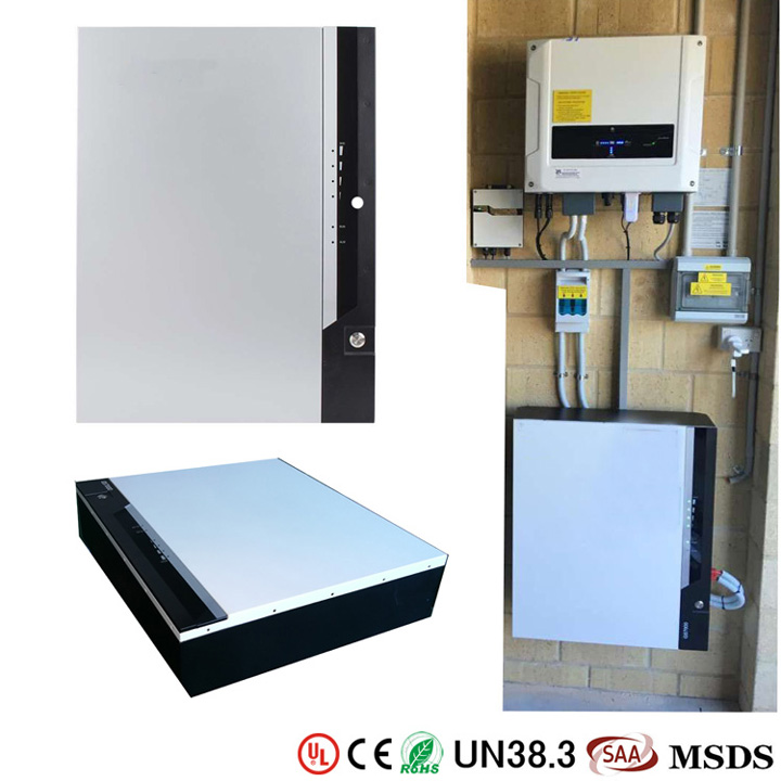 GSL ENERGY-Best Powerwall 3 Wall Mounted Lifepo4 7kwh Tesla Powerwall Home Battery-1