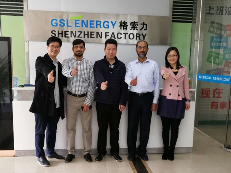 Pakistan clients visited GSL for ESS business cooperation in 2018.