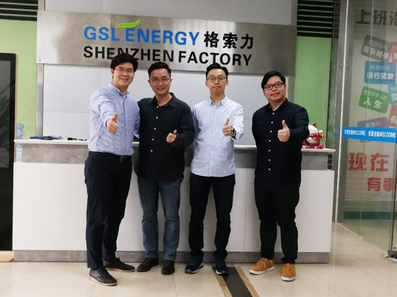 HK clients visited GSL for ESS cooperation.