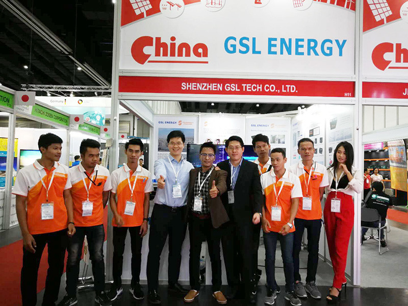 GSL shines like a star in Thailand Energy Show.