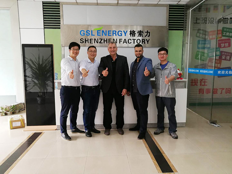 GSL ENERGY-Company News | Usa Client Visits Gsl Energy For Ess Business