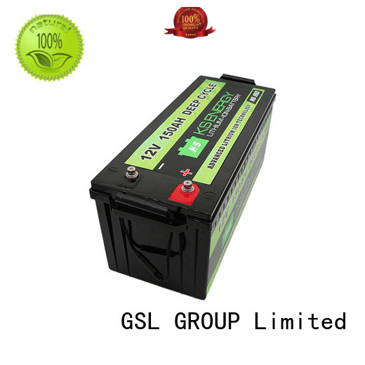 GSL ENERGY lithium battery 12v 100ah customization for camping