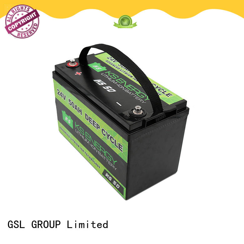 GSL ENERGY deep cycle 24V lithium battery for office automation