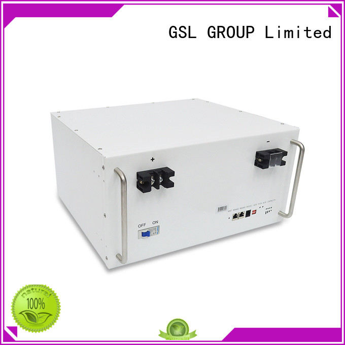 GSL ENERGY widely used lifepo4 battery pack lithium for industry