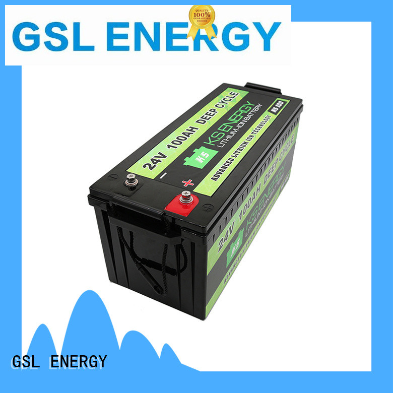 GSL ENERGY 24V lithium battery at discount for military