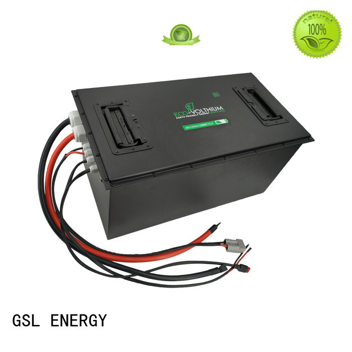 GSL ENERGY professional 48v lithium ion battery 100ah supplier for home