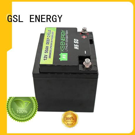 GSL ENERGY off-grid lifepo4 battery 12v led display