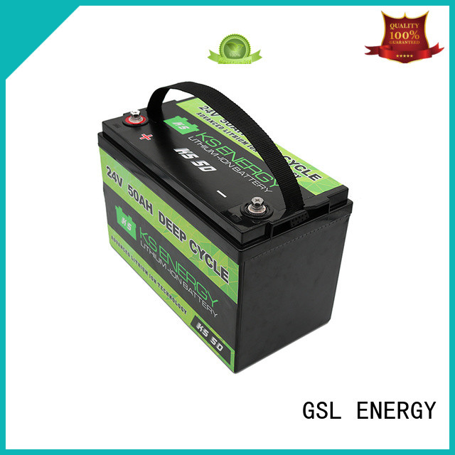 GSL ENERGY 24V lithium battery industry for office automation