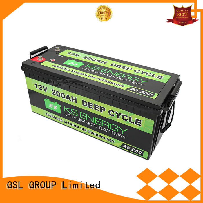 storage 12v 50ah lithium battery cycles GSL ENERGY company