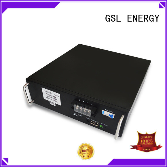 GSL ENERGY ups battery bank in telecom tower free sample for home