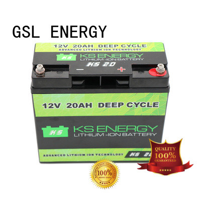 GSL ENERGY safer 12v lithium ion battery deep cycle inquire now for camping