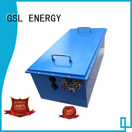 long lifepo4 ion GSL ENERGY Brand 48v golf cart battery manufacture