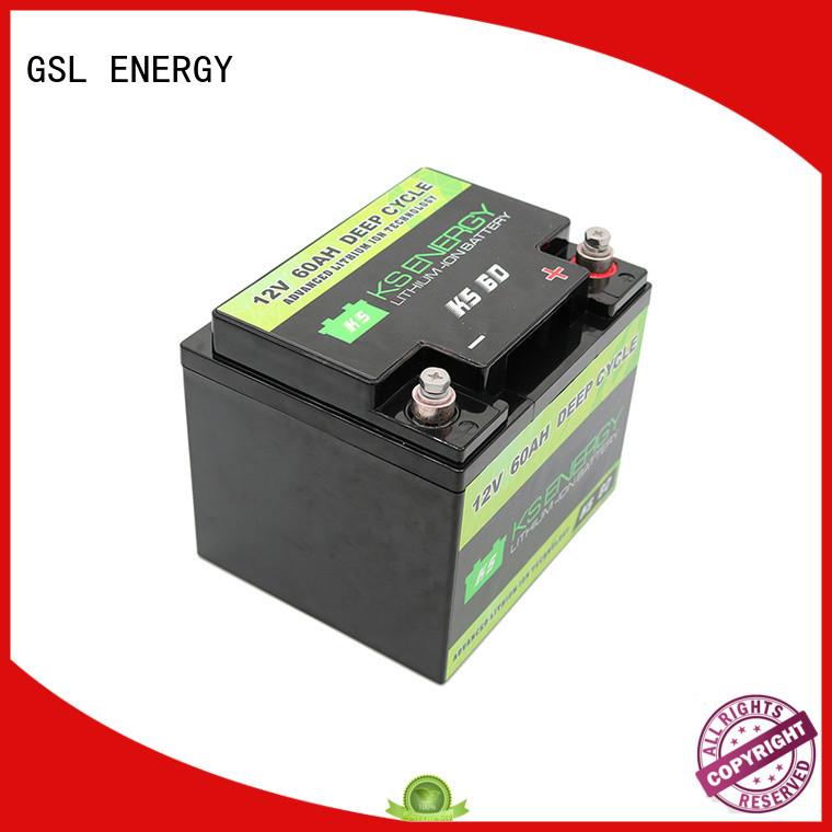 GSL ENERGY solar battery 12v 100ah led display