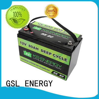 car more long GSL ENERGY Brand 12v 20ah lithium battery factory