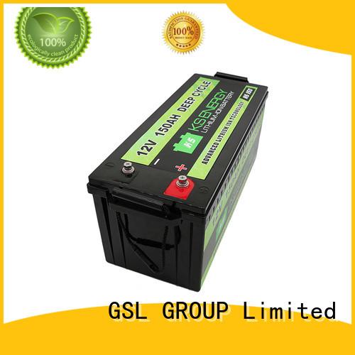 GSL ENERGY lithium rv battery for car