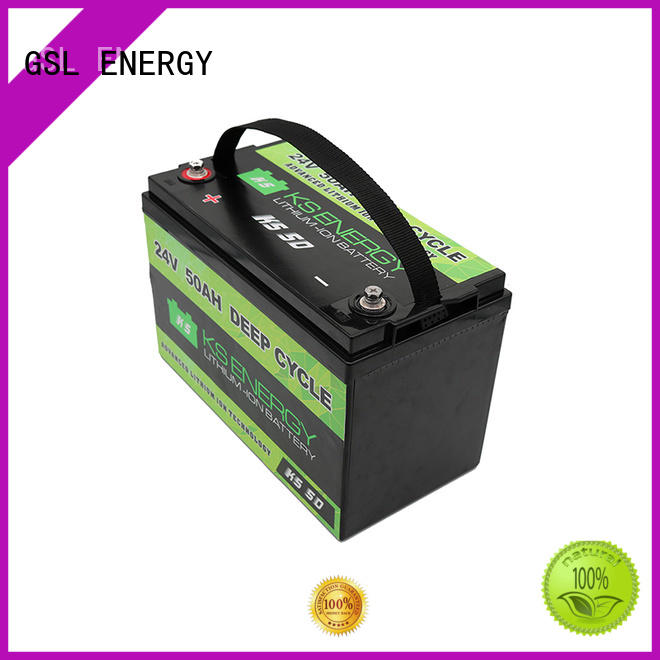 Custom lithium ion 24V lithium battery GSL ENERGY battery