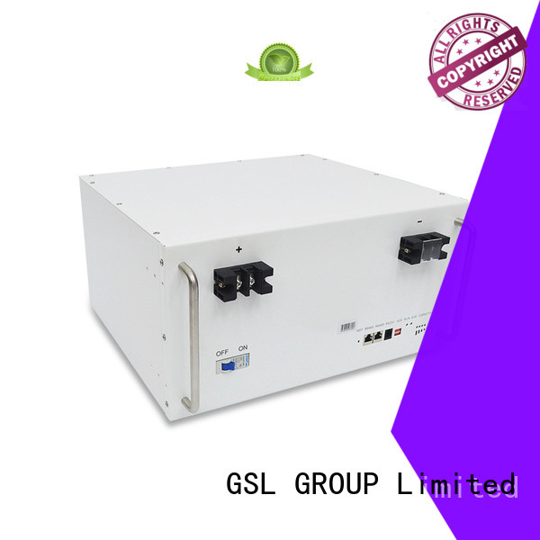GSL ENERGY Brand ups tower telecom battery bank factory