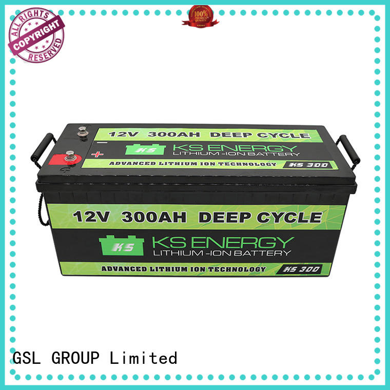 GSL ENERGY Brand led caravans rechargeable 12v 20ah lithium battery motorcycle