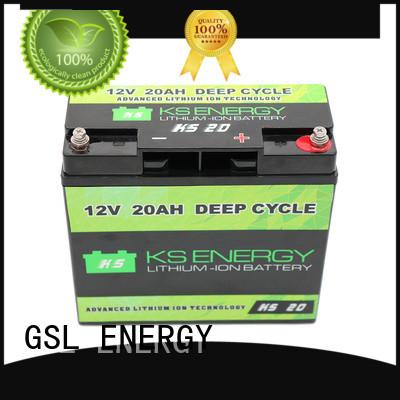 12v 20ah lithium battery led GSL ENERGY Brand 12v 50ah lithium battery