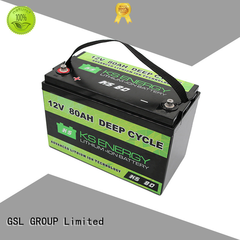 GSL ENERGY Brand cycle motorcycle display 12v 50ah lithium battery