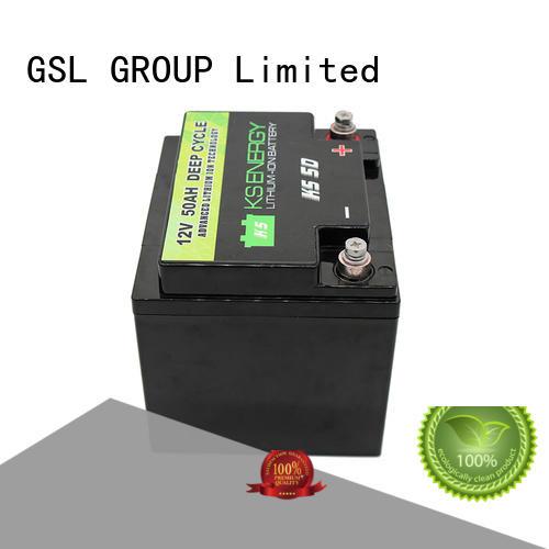 Hot 12v 50ah lithium battery led GSL ENERGY Brand
