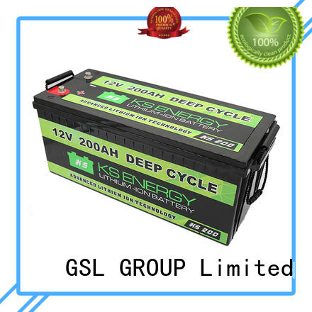 large capacity lifepo4 motorcycle battery for car GSL ENERGY