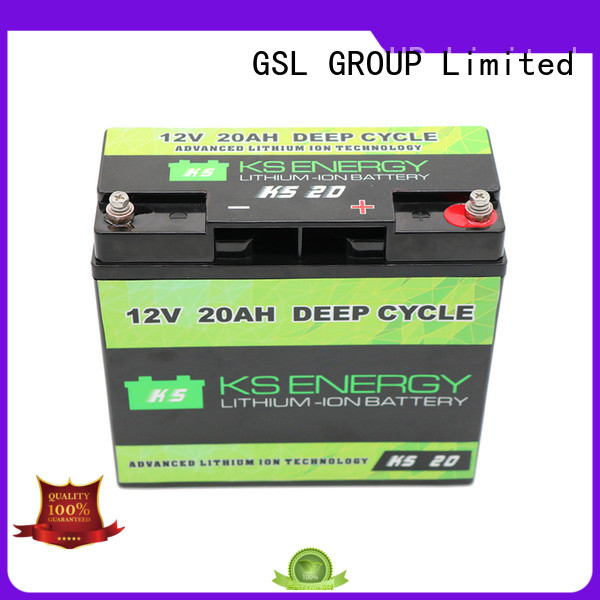 GSL ENERGY Brand llithium liion rechargeable caravans 12v 50ah lithium battery